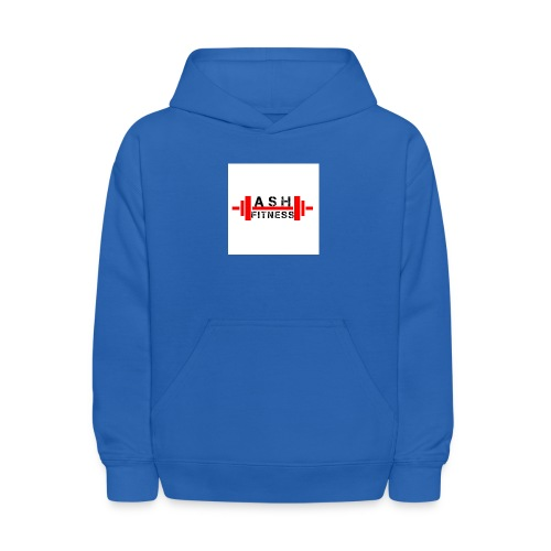 ASH FITNESS MUSCLE ACCESSORIES - Kids' Hoodie