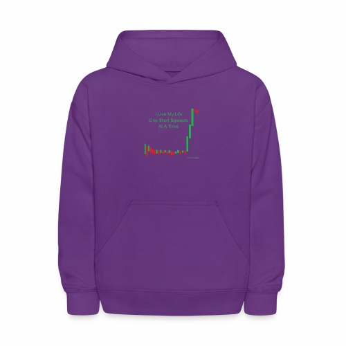 I live my life one short squeeze at a time - Kids' Hoodie