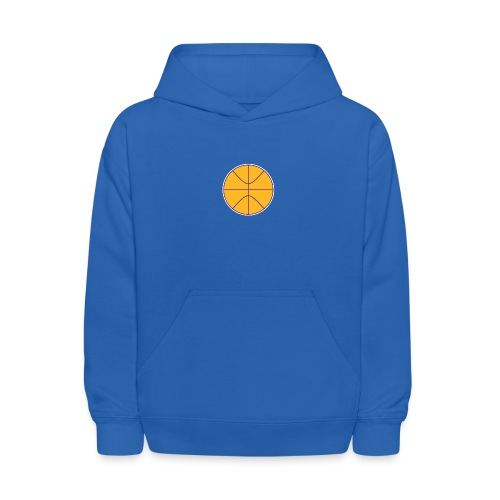 Basketball purple and gold - Kids' Hoodie