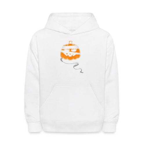 Halloween Bandaged Pumpkin - Kids' Hoodie