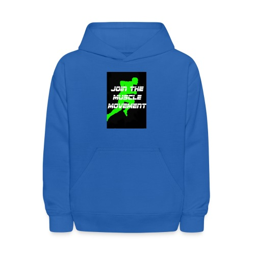 muscle movement - Kids' Hoodie