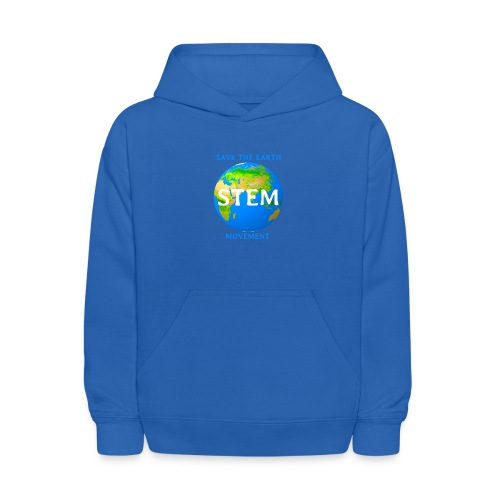 STEM - save the earth movement - Kids' Hoodie