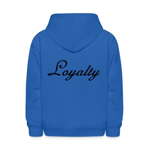 Loyalty Brand Items - Black Color - Kids' Hoodie