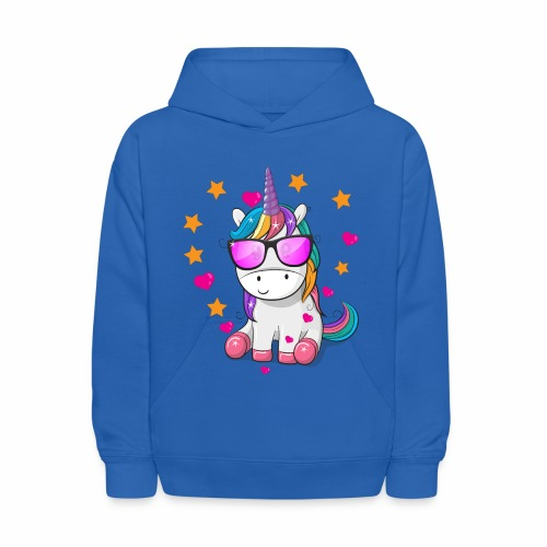 Valentine's Day T-Shirt Gift for Unicorn lovers - Kids' Hoodie
