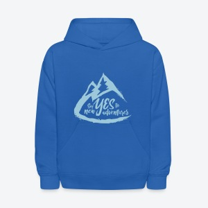 Say Yes to Adventure - Coloured - Kids' Hoodie