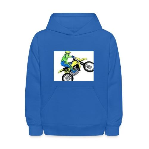 moto bikes - Kids' Hoodie