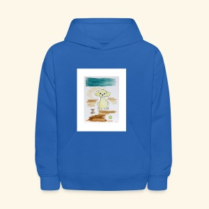 Traver and His Dog - Kids' Hoodie