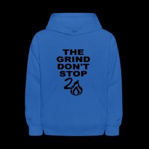 Grind Don't Stop - Kids' Hoodie