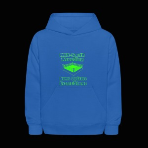 Mid-South Wrestling News Neon/Lime Green - Kids' Hoodie