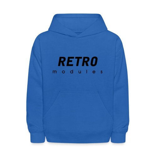 Retro Modules - sans frame - Kids' Hoodie