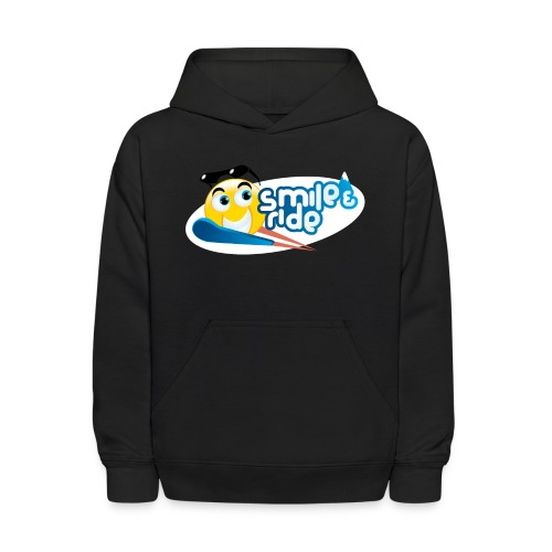 Smile And Ride - Kids' Hoodie