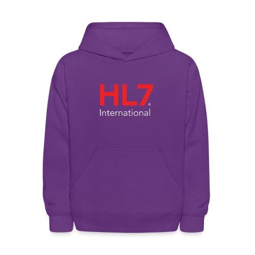 HL7 International Logo - Reverse - Kids' Hoodie