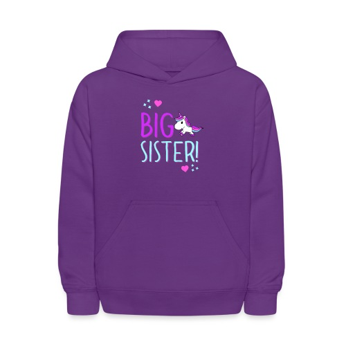 Big Sister Unicorn Design! - Kids' Hoodie