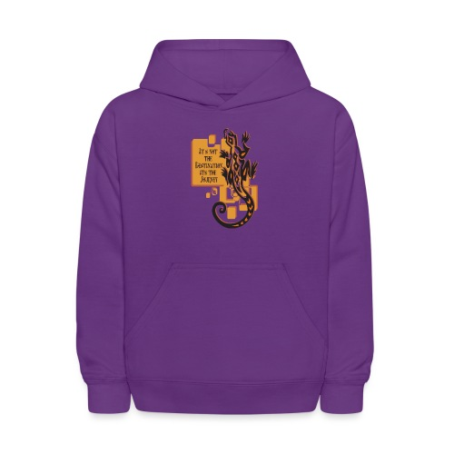 The Journey - Kids' Hoodie