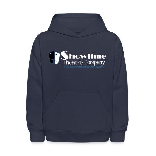 showitme logo blue white large png - Kids' Hoodie