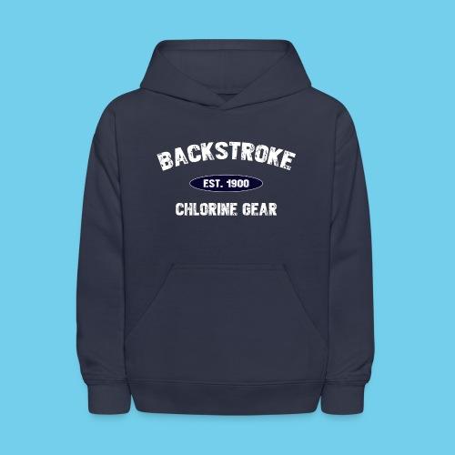 backstroke est 1900 - Kids' Hoodie