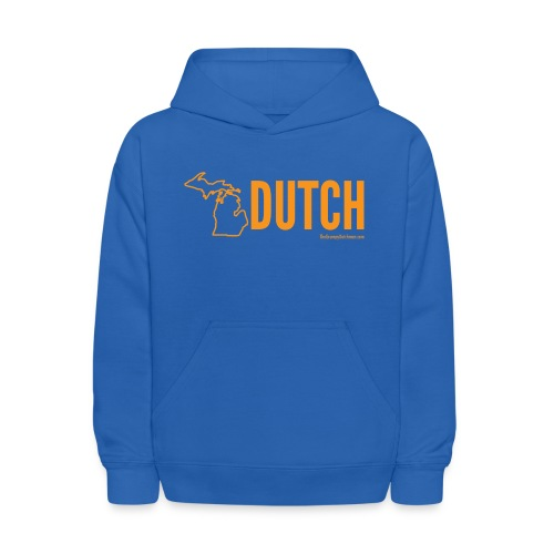 Michigan Dutch (orange) - Kids' Hoodie