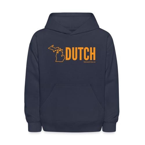 Michigan Dutch (orange) - Kids' Hoodie