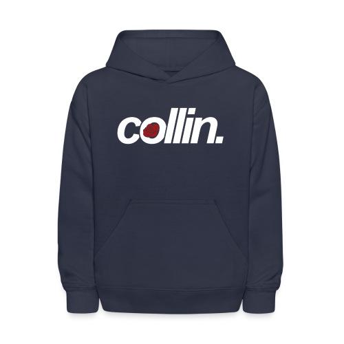 Collin. (White w/ Rose) - Kids' Hoodie