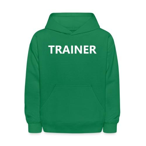 Trainer - Kids' Hoodie