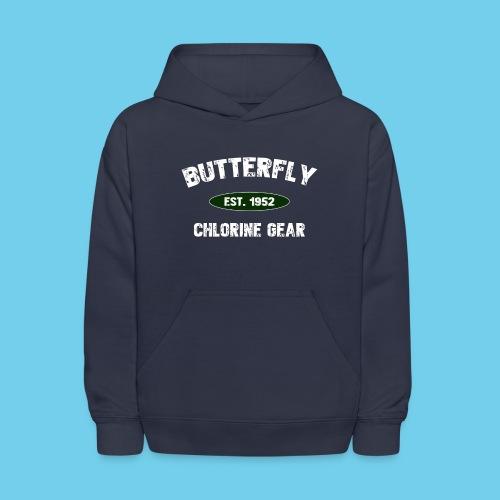 Butterfly est 1952-M - Kids' Hoodie