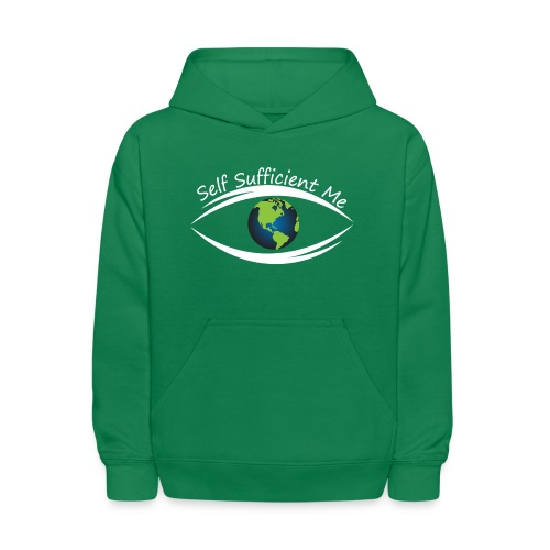 Self Sufficient Me Logo Large - Kids' Hoodie
