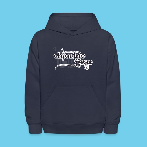 Chlorine Gear Textual stacked Periodic backdrop - Kids' Hoodie