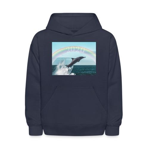 dolphin - Kids' Hoodie