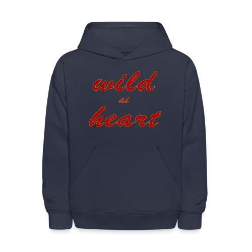 wild at heart - Kids' Hoodie