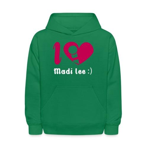 ilovemadi2 - Kids' Hoodie