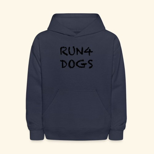RUN4DOGS NAME - Kids' Hoodie