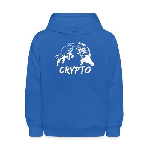 CryptoBattle White - Kids' Hoodie