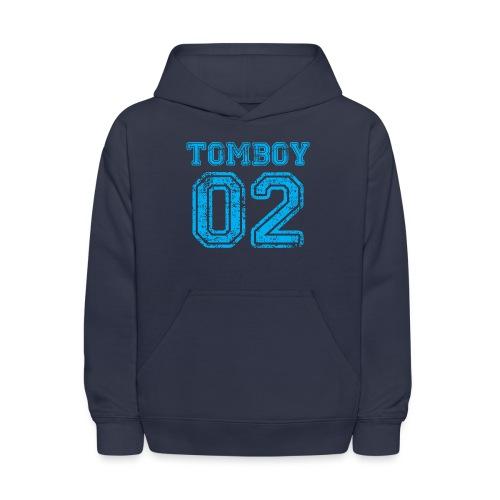 Tomboy02 png - Kids' Hoodie