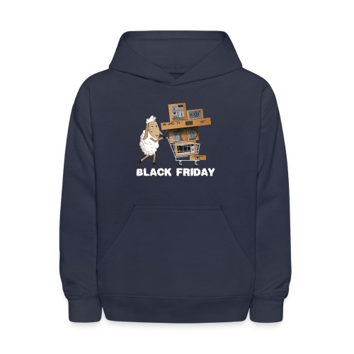 Black Friday or The day of Panurge's Sheeps - Kids' Hoodie