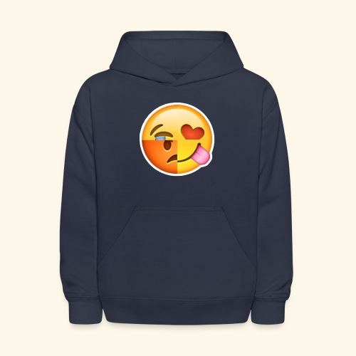 E Tees , Unique , Love , Cry, angry - Kids' Hoodie