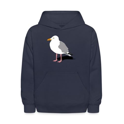 sea gull seagull harbour bird beach sailing - Kids' Hoodie