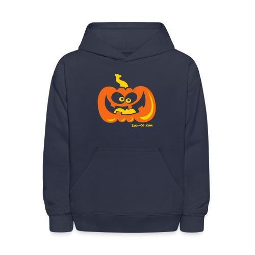 Smiling Pumpkin - Kids' Hoodie