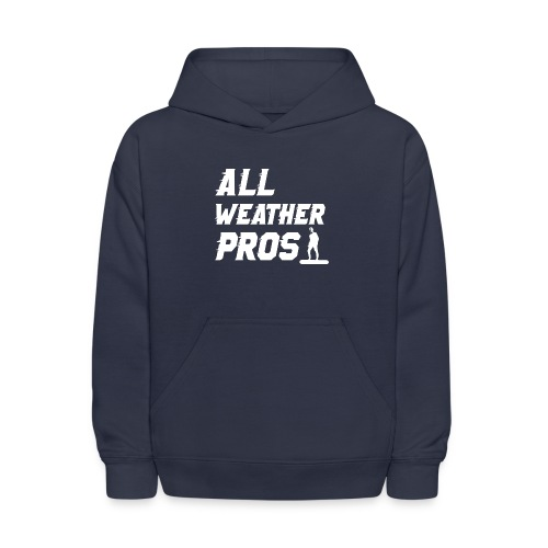 Messenger 841 All Weather Pros Logo T-shirt - Kids' Hoodie