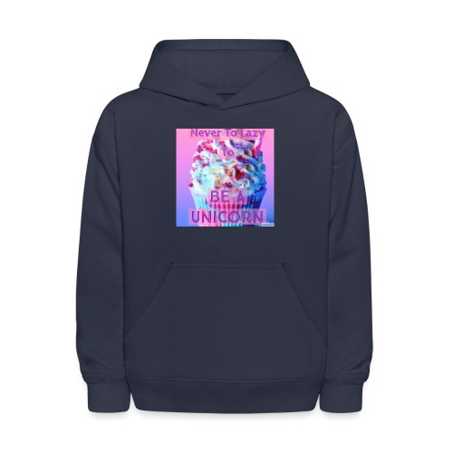 Never To Lazy To Be A Unicorn - Kids' Hoodie