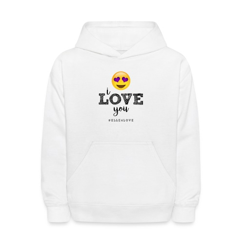 I LOVE you - Kids' Hoodie