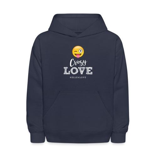 Crazy Love - Kids' Hoodie