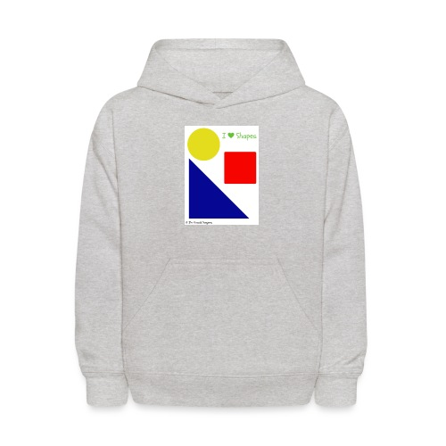 Hi I'm Ronald Seegers Collection-I Love Shapes - Kids' Hoodie