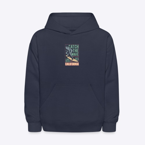 Catch The Wave - Kids' Hoodie