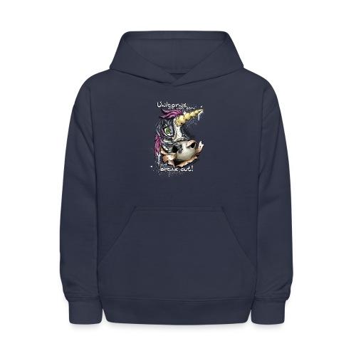 unicorn breakout - Kids' Hoodie