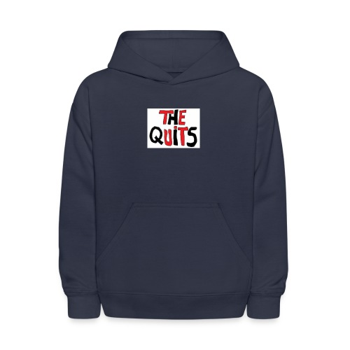 quits logo - Kids' Hoodie