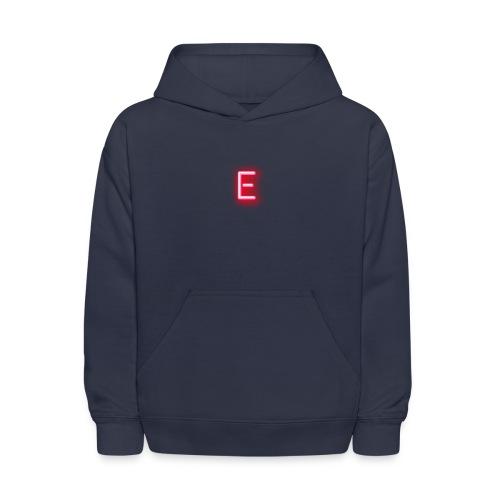 Neon E - Kids' Hoodie