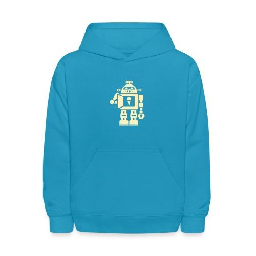 robot 5 - Kids' Hoodie