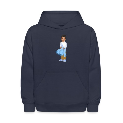 chandler j shelton LOGO BY Shelly Shelton - Kids' Hoodie