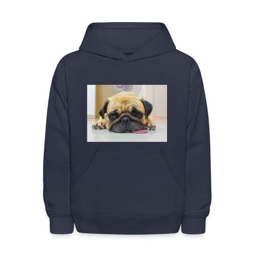 sick dog - Kids' Hoodie