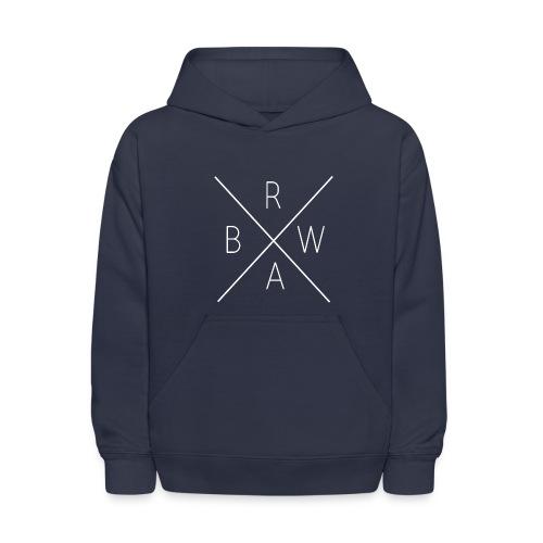 BRWA ShirtX White - Kids' Hoodie
